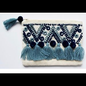 Pouch with beading from India